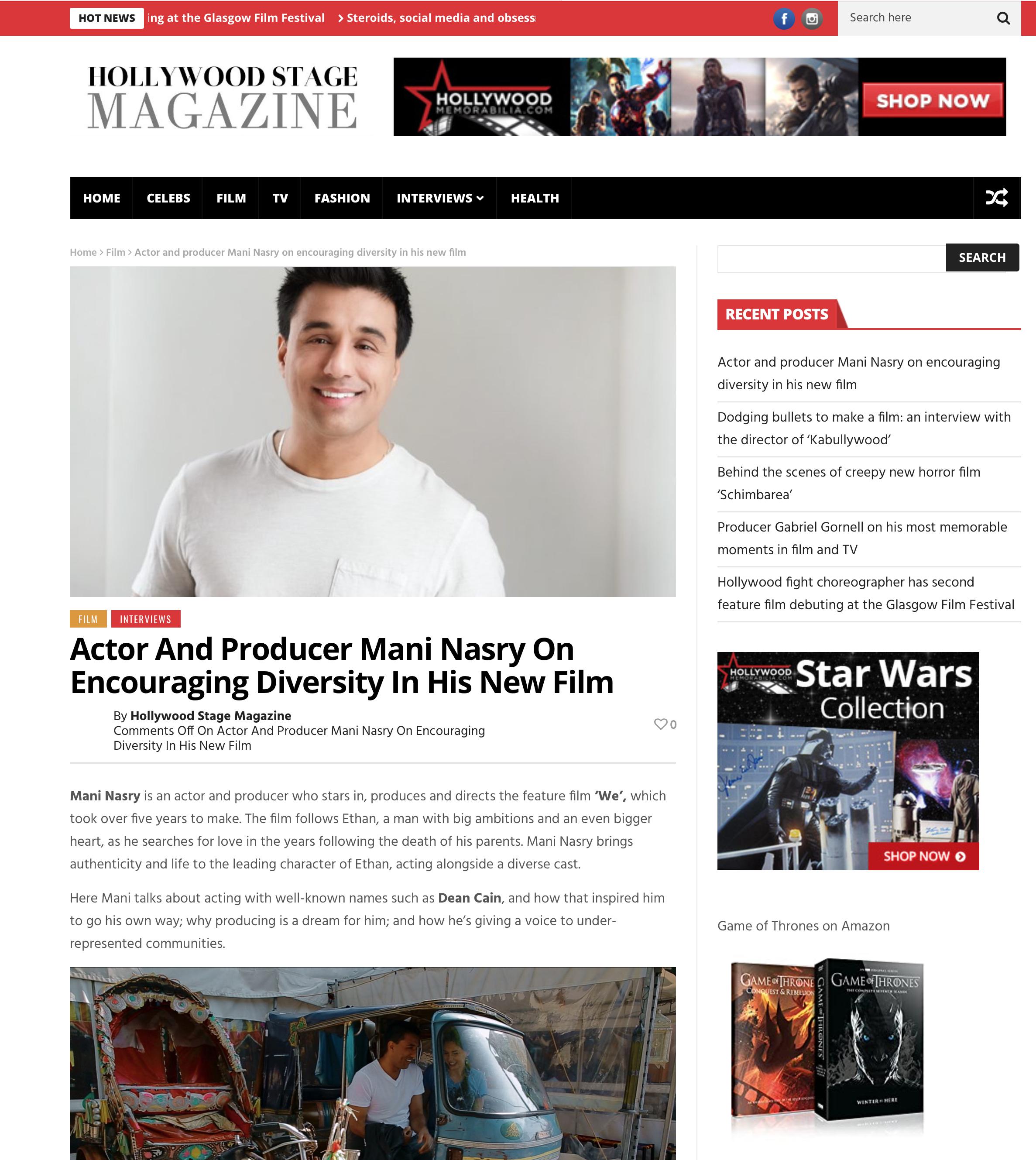 Hollywood Stage Magazine 1